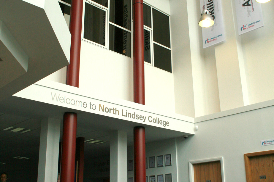New Feature Entrance, North Lindsey College