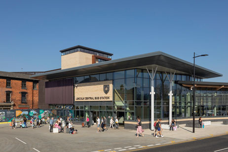 New Bus Station: Lincoln Transport Hub