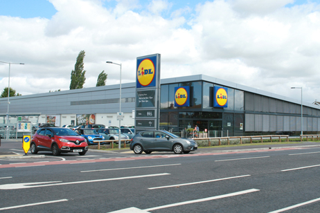 Lidl, North Hykeham, Lincoln
